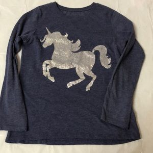 Long sleeve unicorn shirt